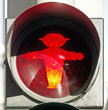 East german traffic light Royalty Free Stock Image