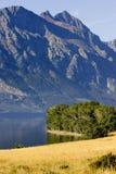 East Glacier mountain peak Royalty Free Stock Images