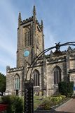 EAST GRINSTEAD,  WEST SUSSEX/UK - AUGUST 18 :  View of St Swithu. N`s Church in East Grinstead West Sussex on August 18, 2018 Stock Image