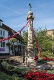 EAST GRINSTEAD, WEST SUSSEX/UK - AUGUST 18 : View of the War Mem. Orial in East Grinstead on August 18, 2018 Stock Photography