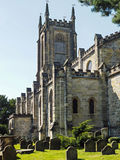EAST GRINSTEAD, WEST  SUSSEX/UK - JULY 23 : View of St Swithun's Royalty Free Stock Photo