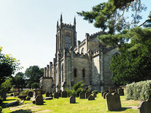 EAST GRINSTEAD, WEST  SUSSEX/UK - JULY 23 : View of St Swithun's Royalty Free Stock Photography