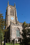 EAST GRINSTEAD, WEST SUSSEX/UK - OCTOBER 26 : St Swithun's Churc Royalty Free Stock Photography
