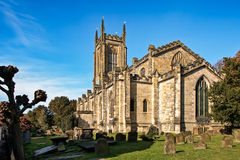 EAST GRINSTEAD, WEST SUSSEX/UK - OCTOBER 26 : St Swithun's Churc Royalty Free Stock Photo