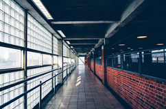East ham. Straight lines lines and lines stock photo