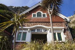 East Hill Lift in Hastings Royalty Free Stock Photos