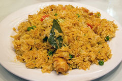 East Indian Biryani Rice Dish Stock Photography