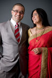 East Indian Couple Royalty Free Stock Photography
