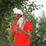 East Indian Drummer Royalty Free Stock Image