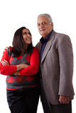 East Indian Father and Daughter Royalty Free Stock Photos