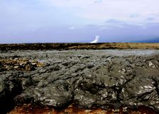 East Java Mud Volcano 2 Stock Image