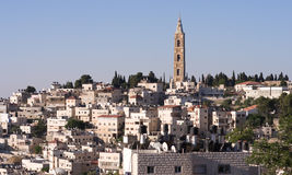 East jersualem. A view of eastern jerusalem Royalty Free Stock Image
