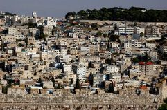 East Jerusalem. This picture was taken in the East of Jerusalem. People live there Royalty Free Stock Photography