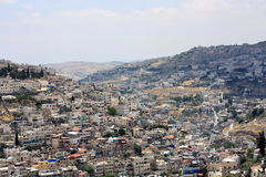 East Jerusalem. View from old city Stock Photo