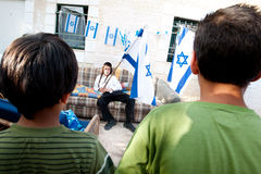 East Jerusalem Jewish Settlers Royalty Free Stock Photo