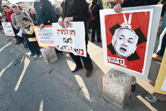 East Jerusalem Protest Royalty Free Stock Images