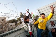 East Jerusalem Protest Stock Images