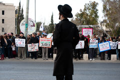 East Jerusalem Protest Royalty Free Stock Images
