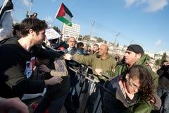 East Jerusalem Protest Royalty Free Stock Photography
