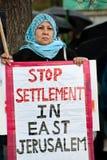 East Jerusalem Protest Stock Photo