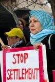 East Jerusalem Protest Royalty Free Stock Image