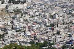 East Jerusalem Royalty Free Stock Photography