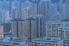 East of Kowloon side in Hong Kong Stock Photography
