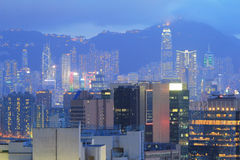 East of Kowloon side in Hong Kong Stock Image
