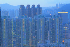 East of Kowloon side in Hong Kong Stock Photo