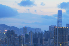 East of Kowloon side in Hong Kong Royalty Free Stock Photos