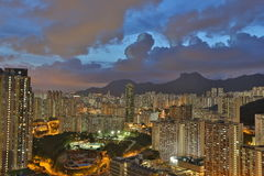 East of Kowloon side in Hong Kong Royalty Free Stock Image