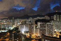 East of Kowloon side in Hong Kong Stock Images