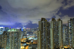 East of Kowloon side in Hong Kong Royalty Free Stock Photography