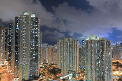 East of Kowloon side in Hong Kong Stock Photos