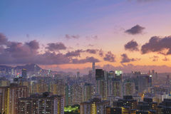 East of kowloon view of hong kong City Landscape Royalty Free Stock Image