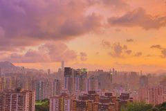 East of kowloon view of hong kong City Landscape Stock Photo