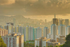 East of kowloon view of hong kong City Landscape Royalty Free Stock Photo