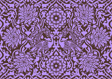 East lilac ornament Royalty Free Stock Image