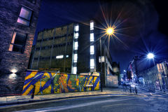 East London Graffiti Royalty Free Stock Images