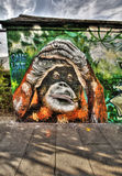 East London Graffiti Stock Image
