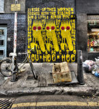 East London Graffiti Royalty Free Stock Photo