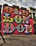 East London Graffiti Royalty Free Stock Image