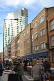 East London market Royalty Free Stock Images