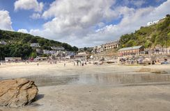 East Looe Beach Royalty Free Stock Photography