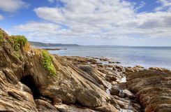 East Looe Beach Royalty Free Stock Image