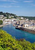 East Looe river town of Looe Cornwall England Stock Photography