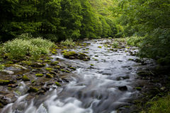 East Lyn river, Watersmeet, North Devon, UK Royalty Free Stock Photo