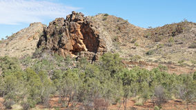East MacDonnell Ranges, Australia Royalty Free Stock Photo