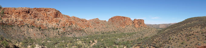 East MacDonnell Ranges, Australia Stock Photography