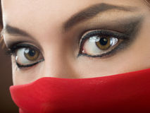 East make-up Royalty Free Stock Image